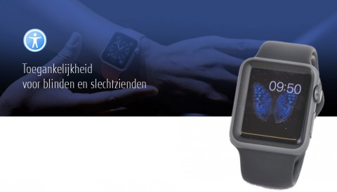De Apple Watch als Universal Design product