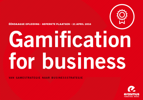 Opleiding Gamification op 21 april 2016
